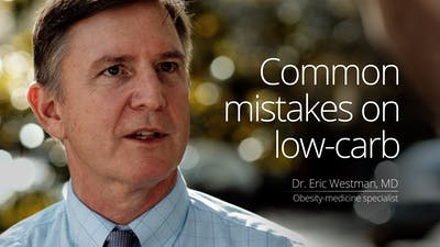 Common mistakes on low carb
