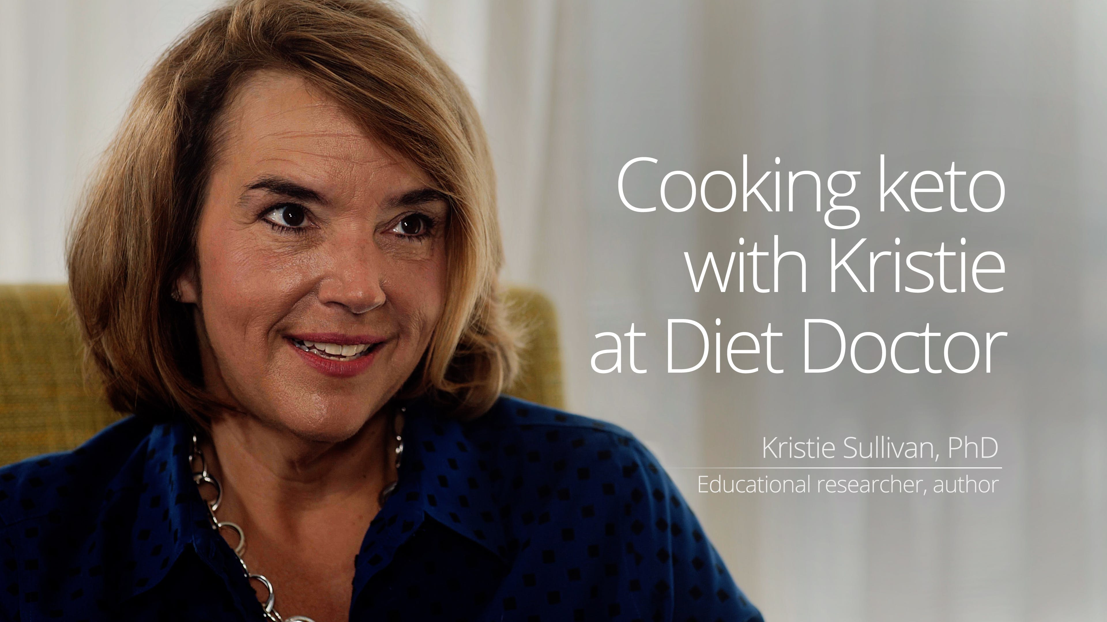 Coming soon: Cooking keto with Kristie