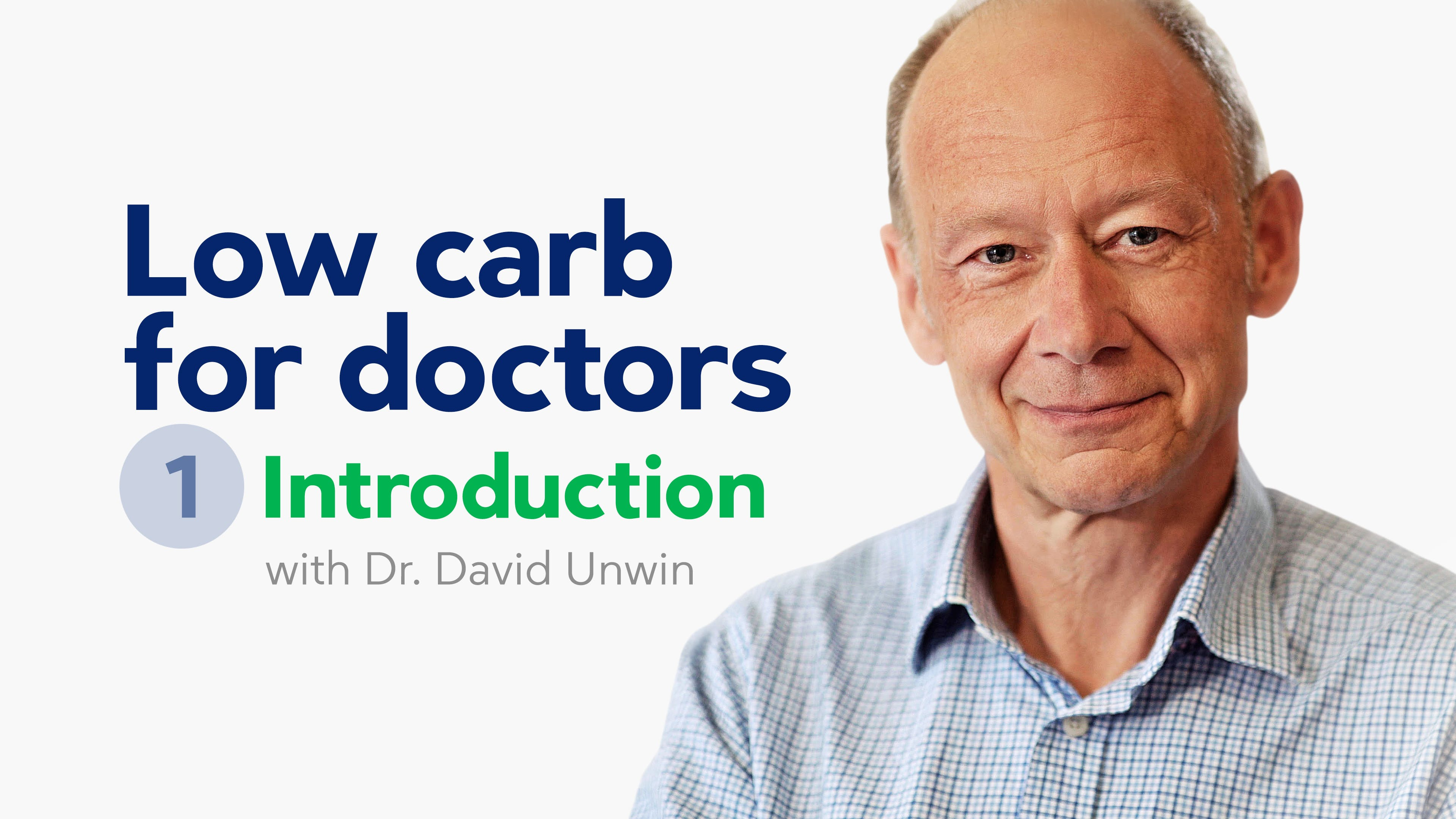 Low carb for doctors – introduction