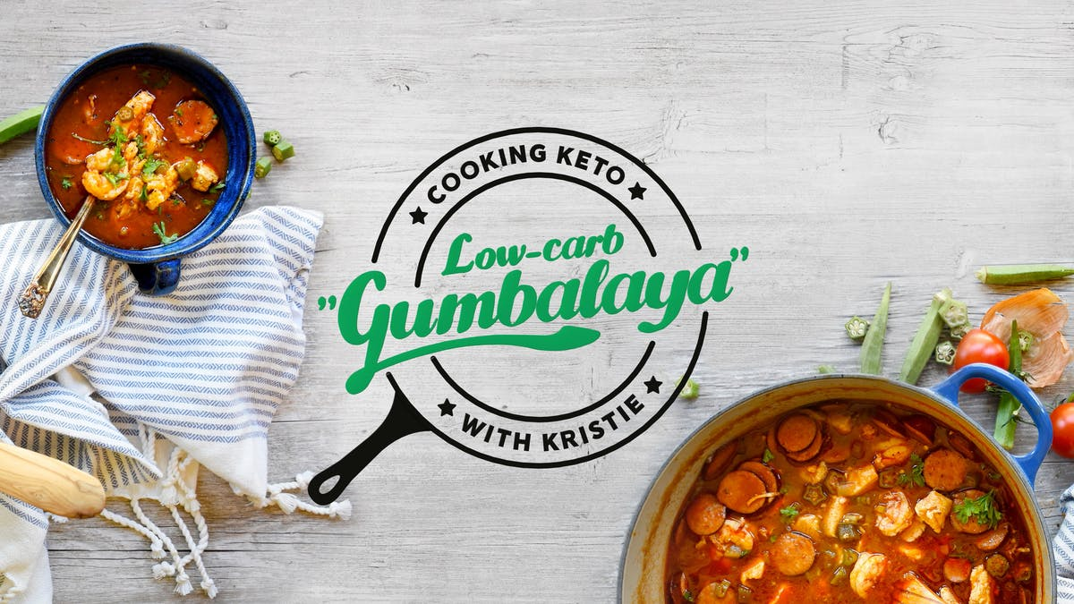 Low-carb Gumbalaya