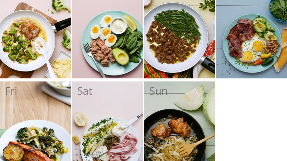New quick and easy keto meal plan
