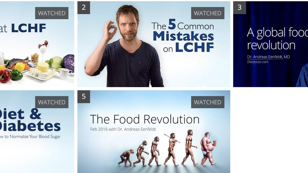 Top videos with Dr. Andreas Eenfeldt