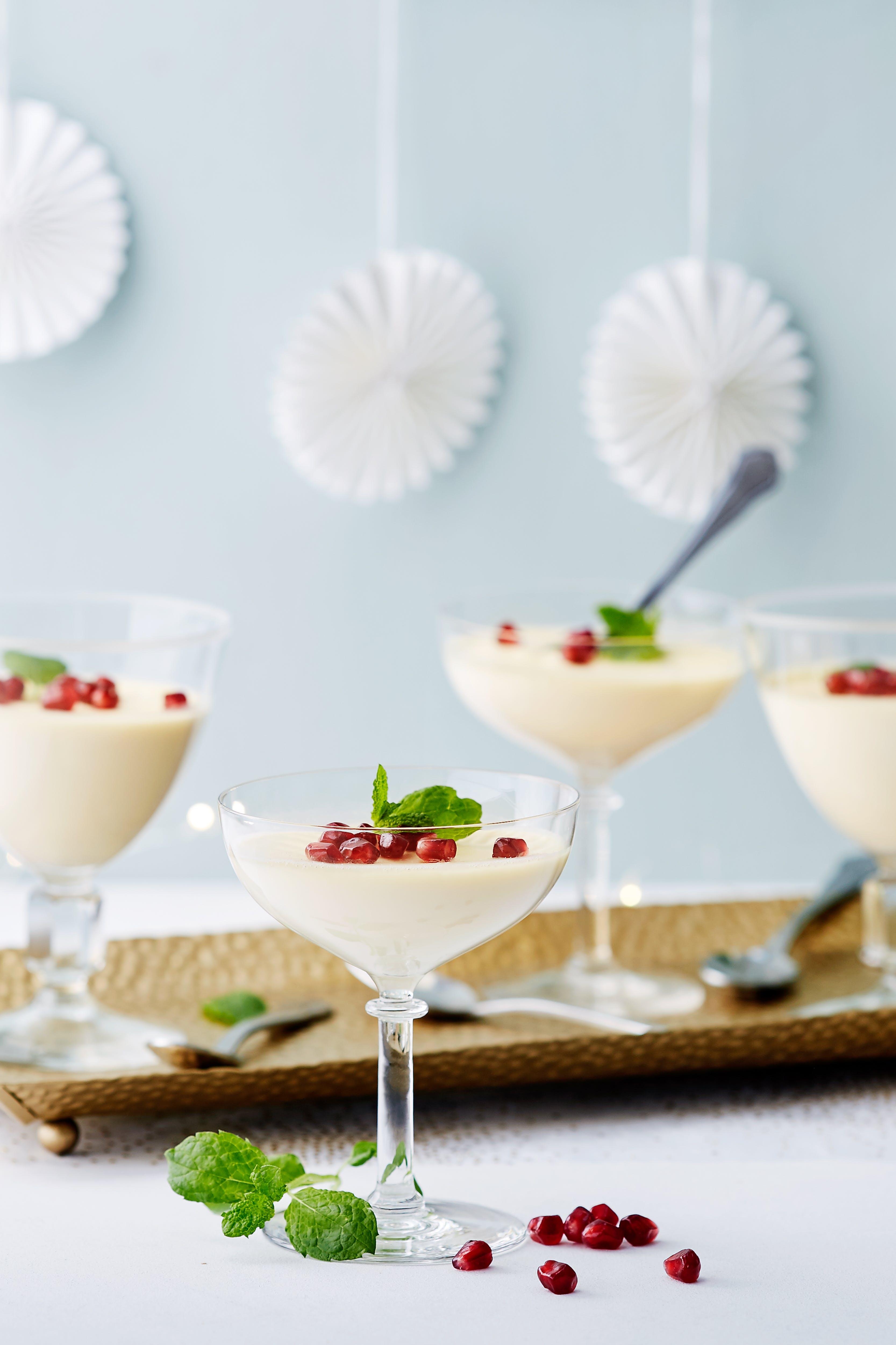 Keto vanilla pannacotta<br />(Dessert)