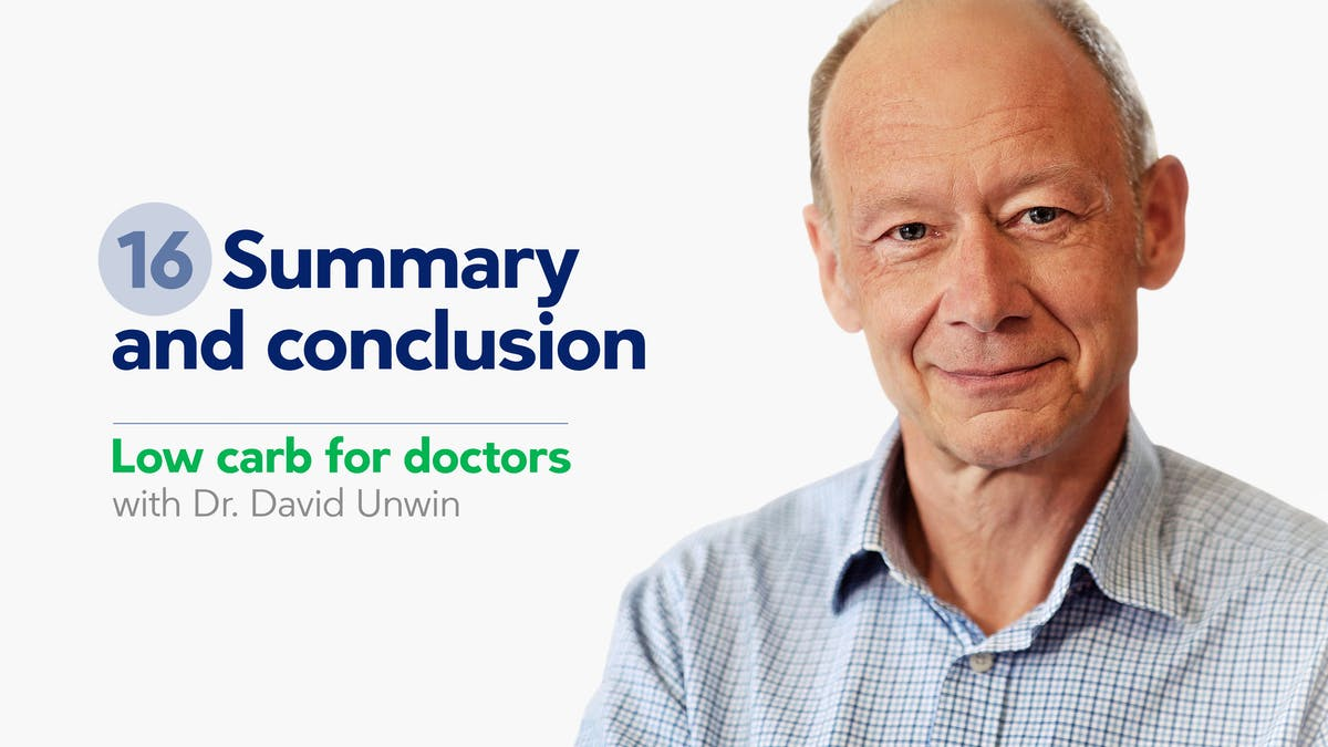 Low carb for doctors: Summary and conclusion
