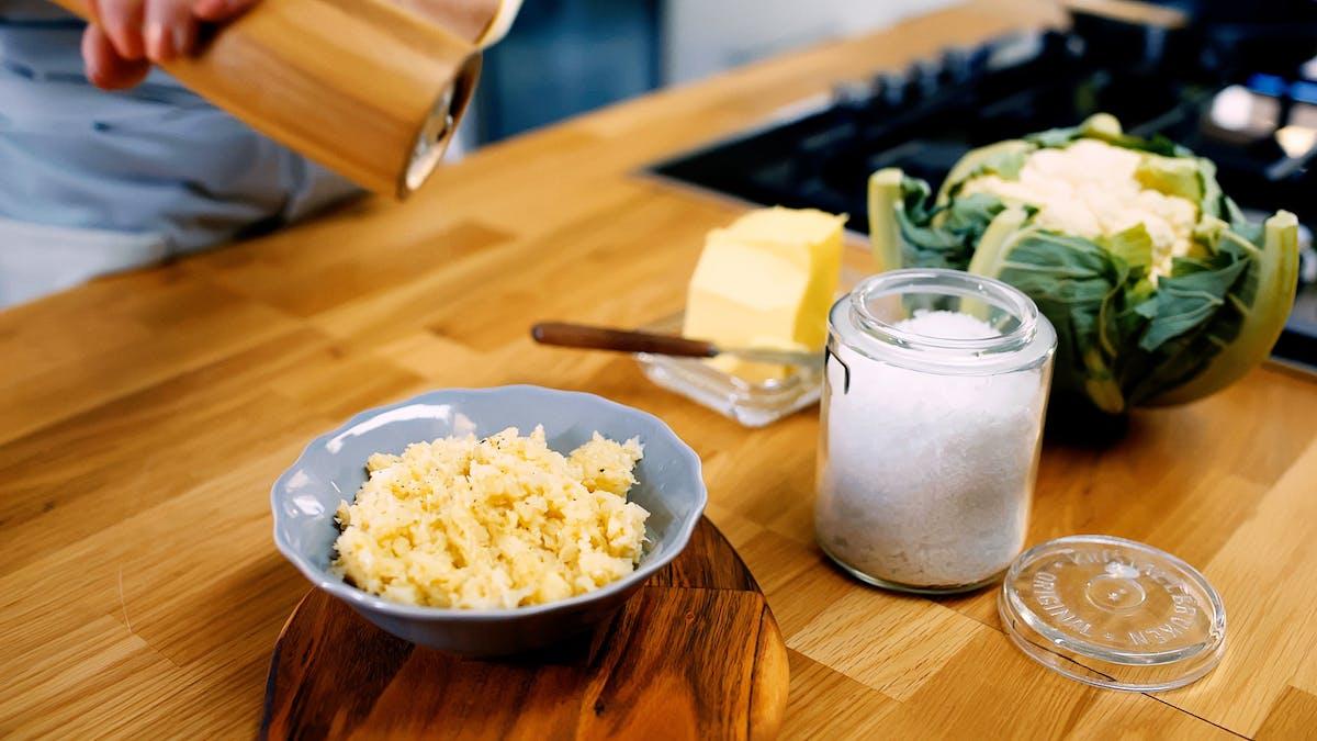 低碳水化合物菜花大米