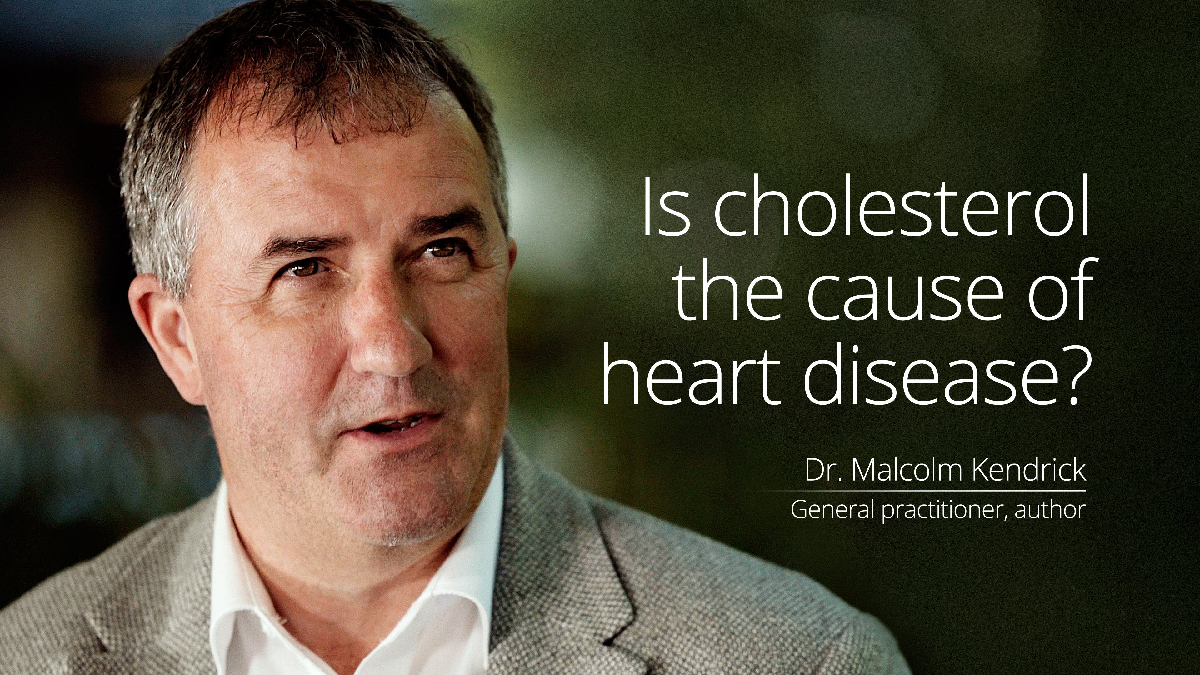 Is cholesterol the cause of heart disease?