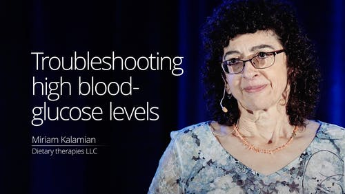 Trouble shooting high blood-glucose levels