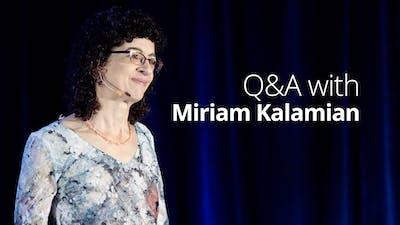 Q&A with Miriam Kalamian