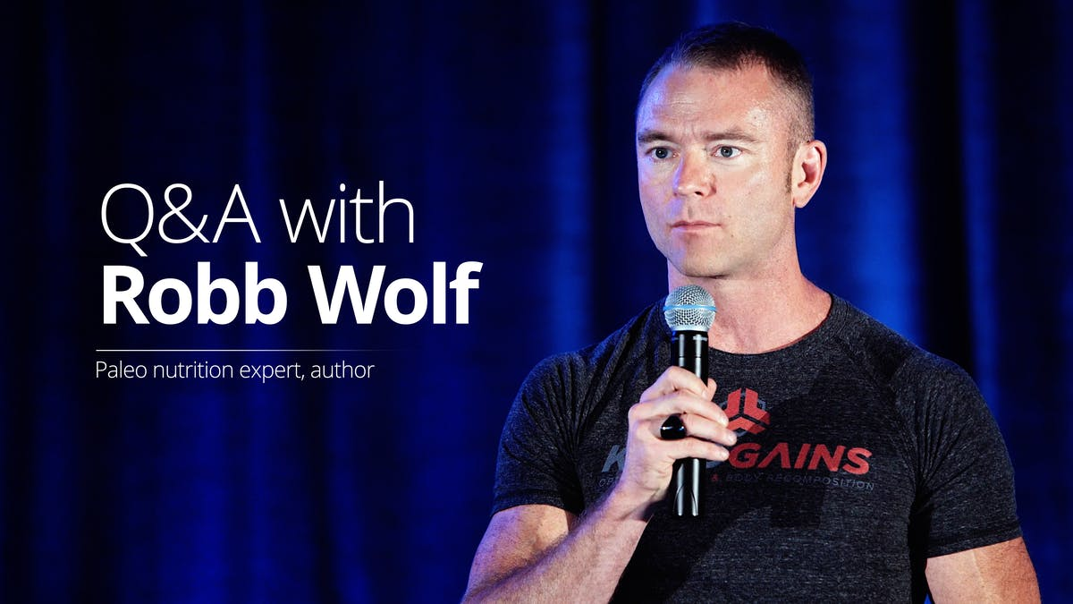 Q&A with Robb Wolf