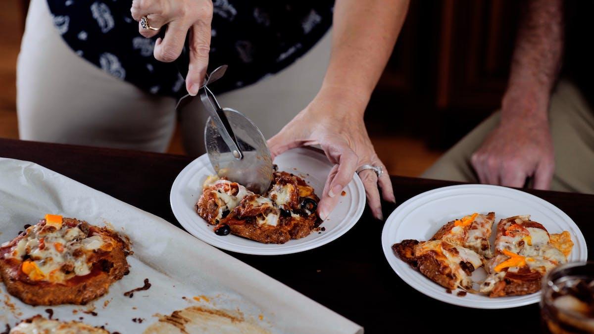 Sullivan\'s KeDough pizza