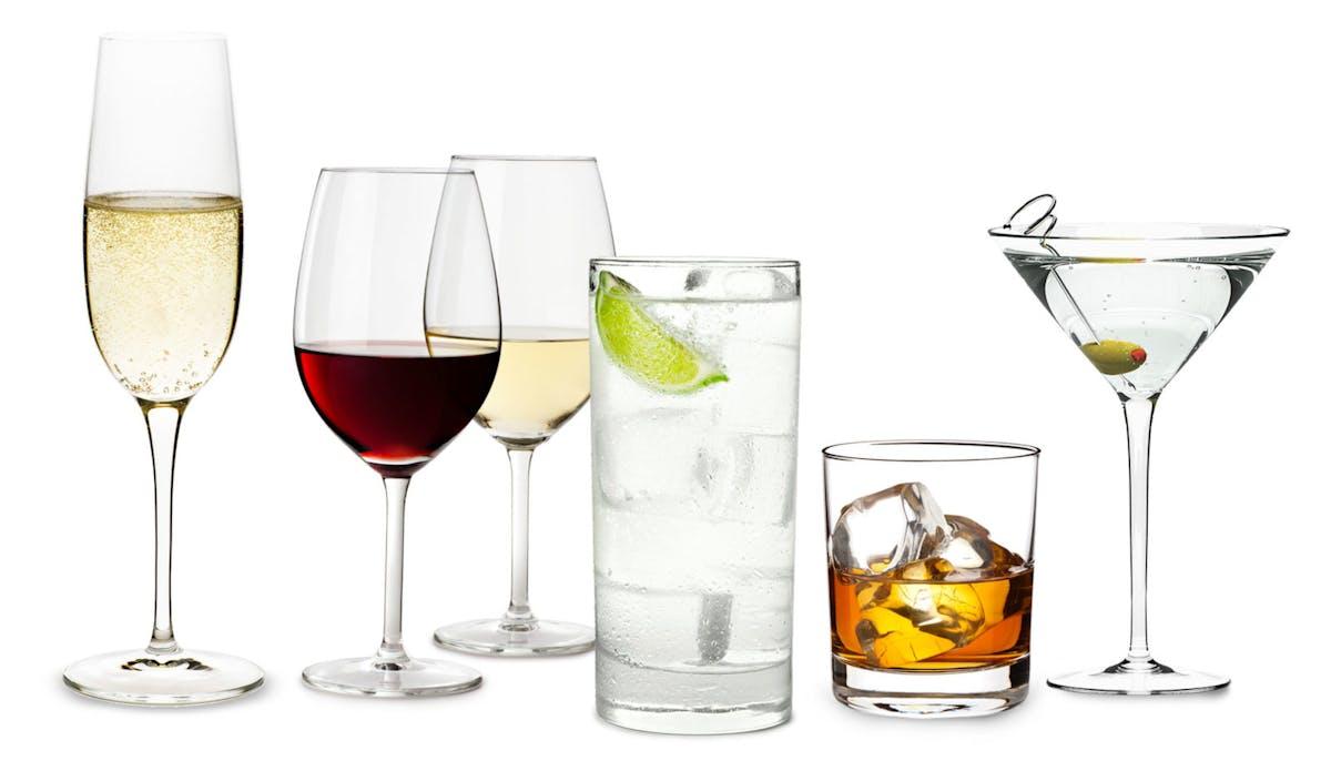 Keto alcoholic drinks