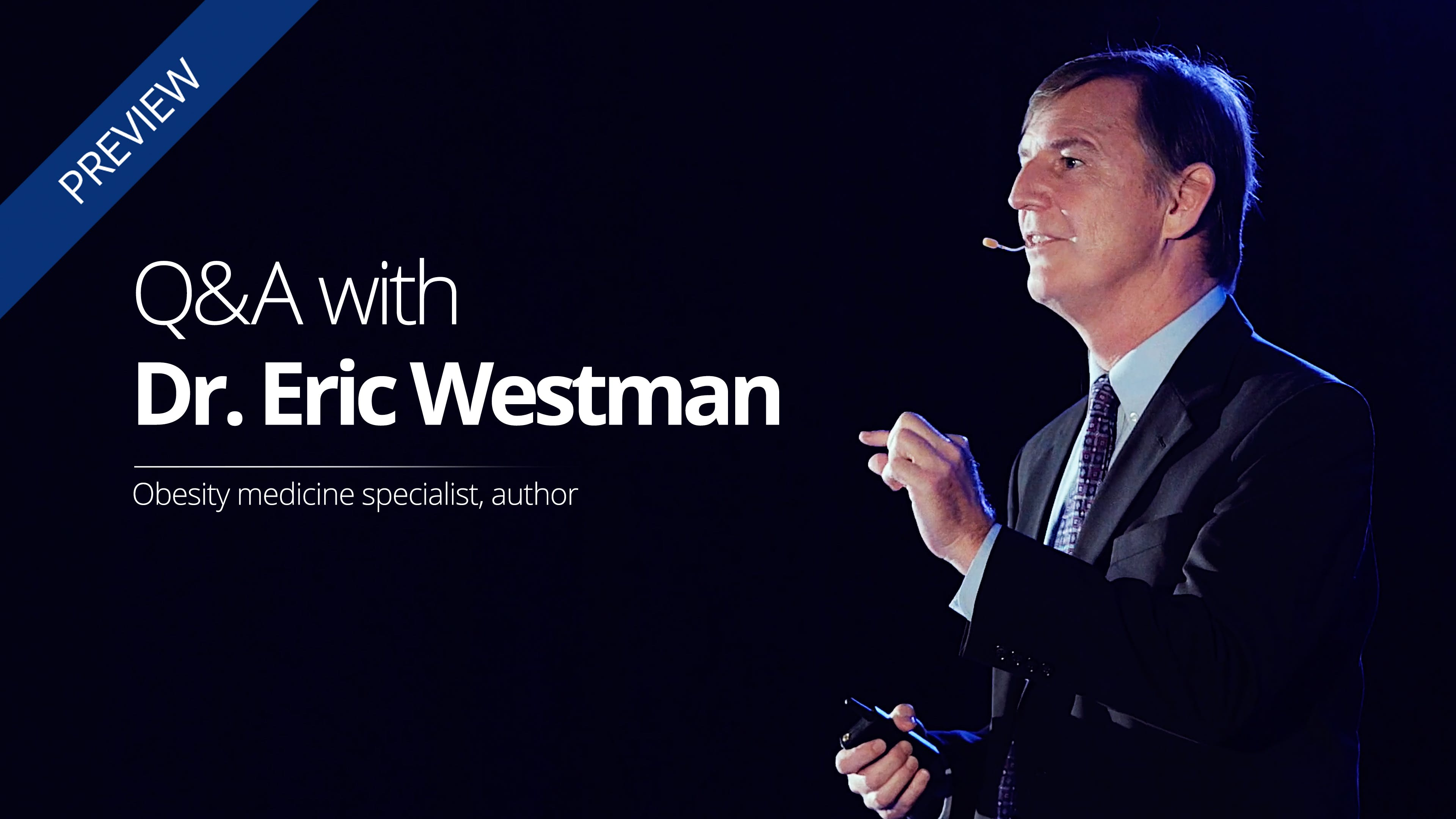 What are Dr. Eric Westman's recommendations for low-carb vegetarians?