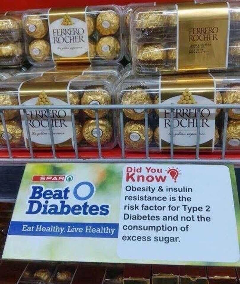 Fight type 2 diabetes... with sugary pralines?