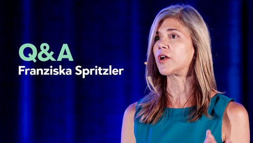 Q&A with Franziska Spritzler