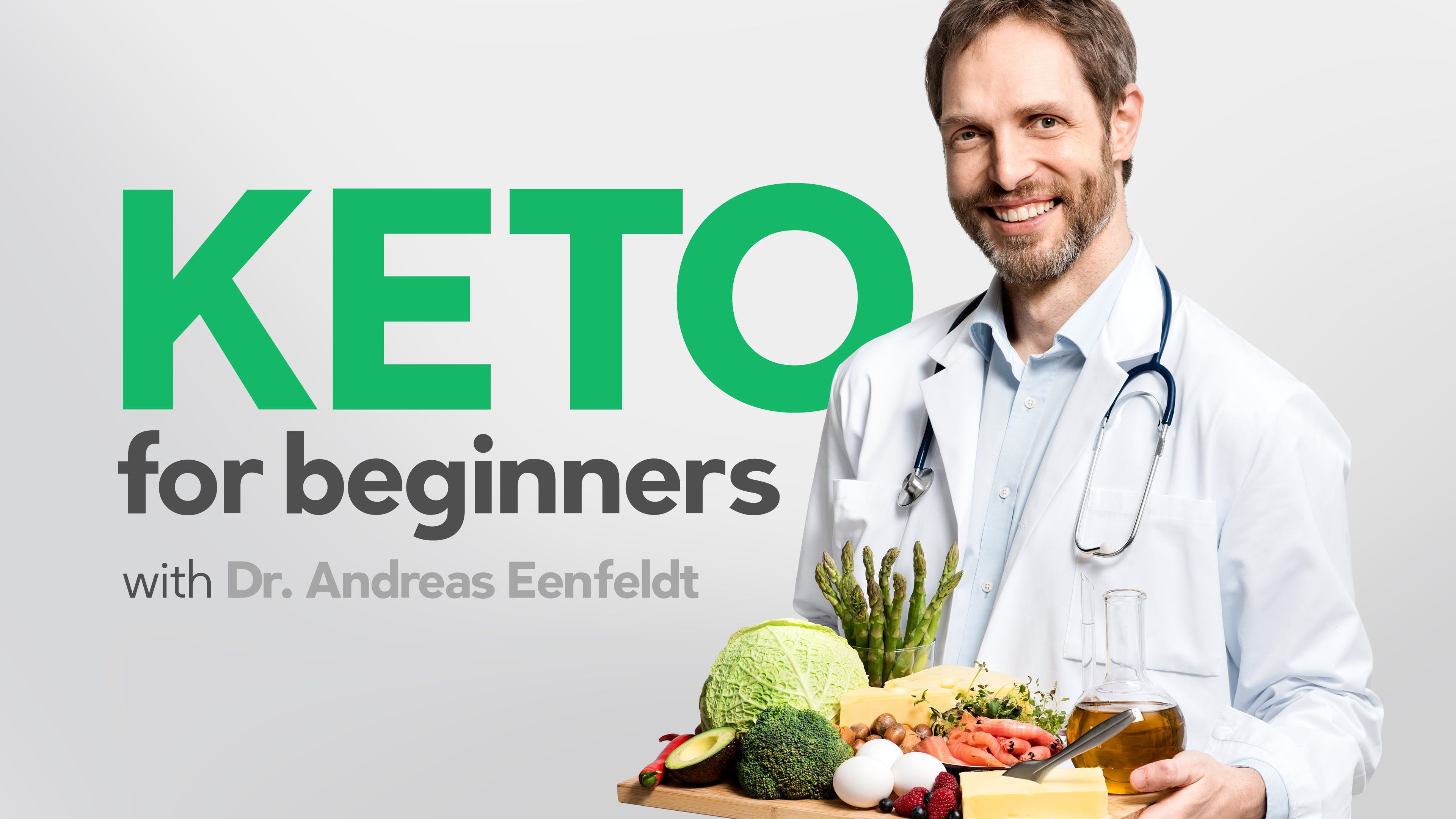 Keto course with Dr. Andreas Eenfeldt