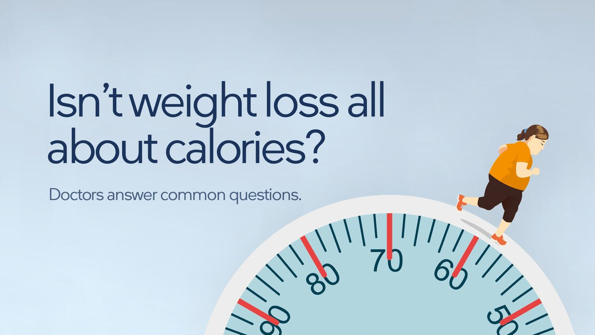 Isn't Weight Loss All About Counting Calories? – Answers to Common Questions