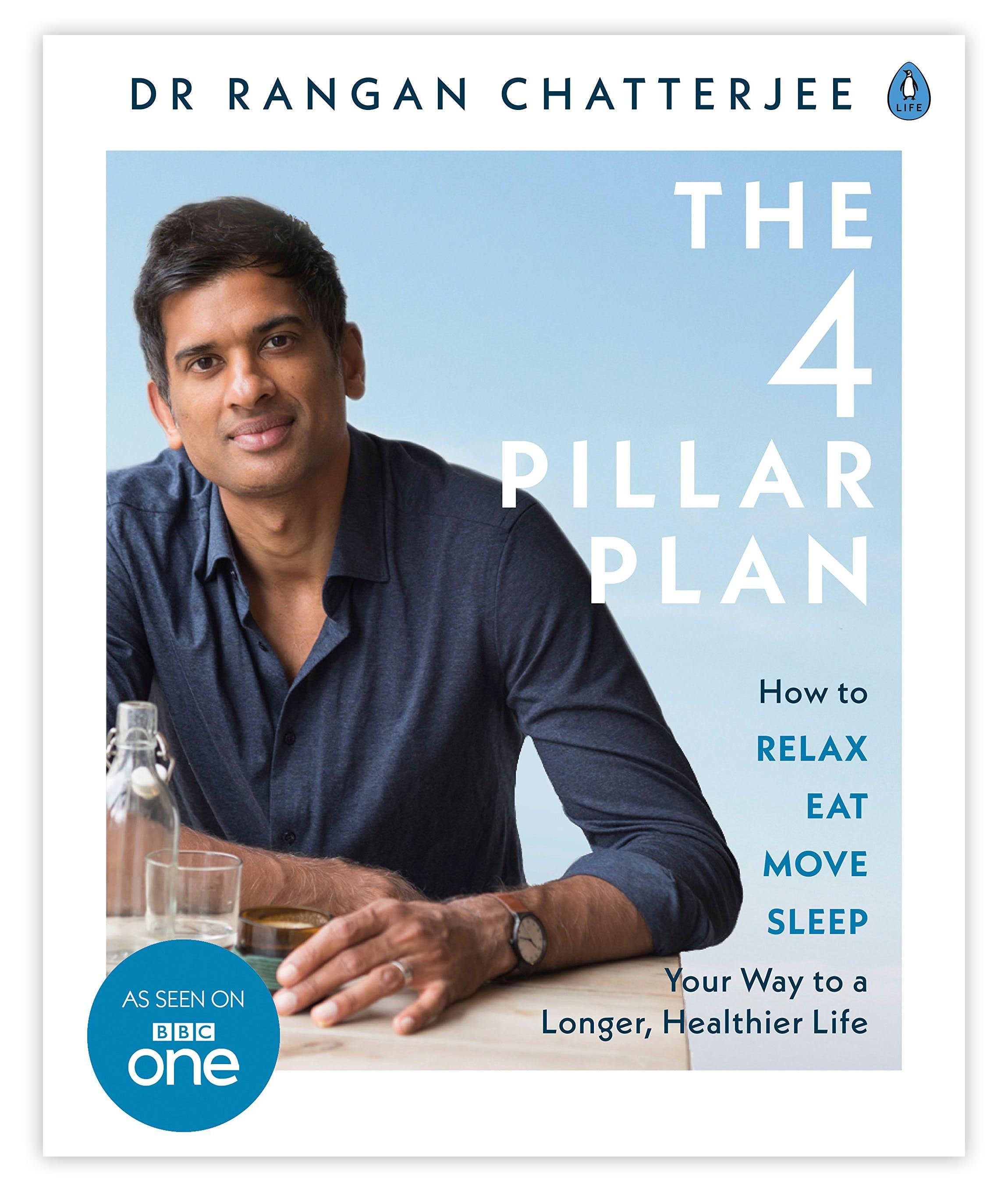 Rangan Chatterjee's The 4 Pillar Plan reaches #1 on Amazon