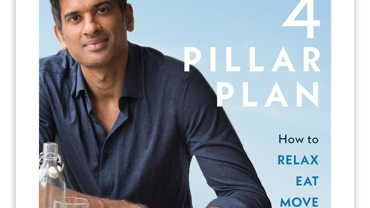 Rangan Chatterjee's The 4 Pillar Plan reaches #1 on Amazon