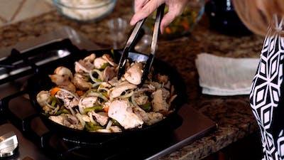 费城鸡肉起司牛排砂锅