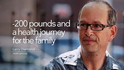 减掉200磅,为家人做一次健康之旅manbetx单双