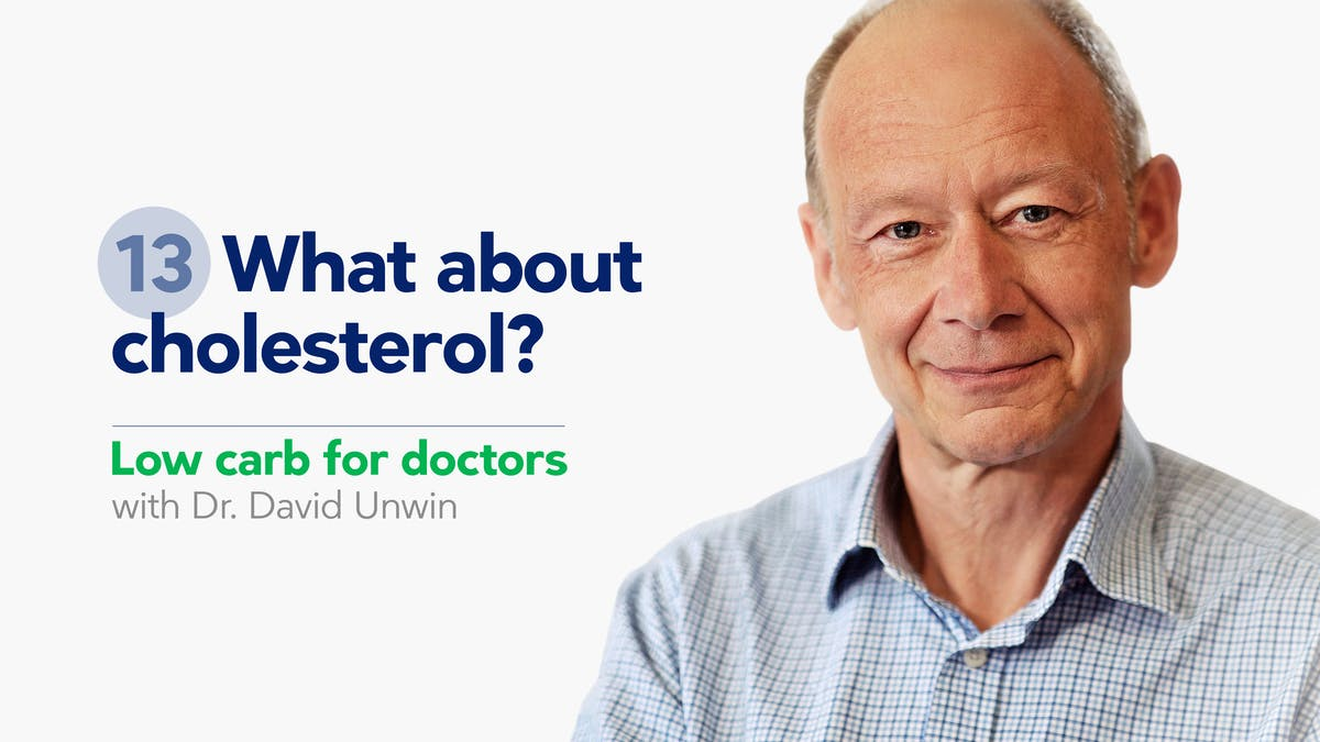 Low carb for doctors: What about cholesterol?
