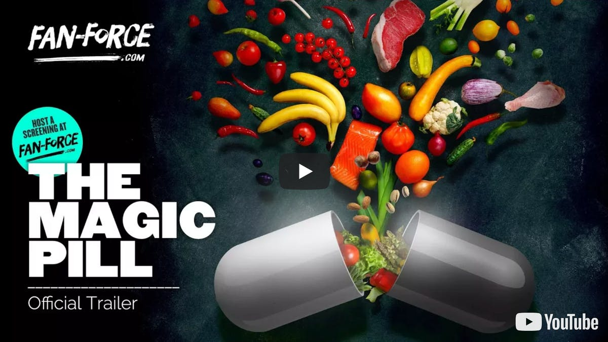 The Magic Pill – How to make food your medicine – available today