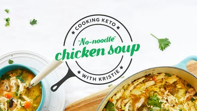 No-noodle chicken soup