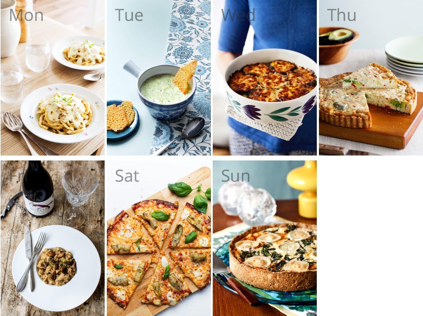 #6 meal plan: Vegetarian low carb
