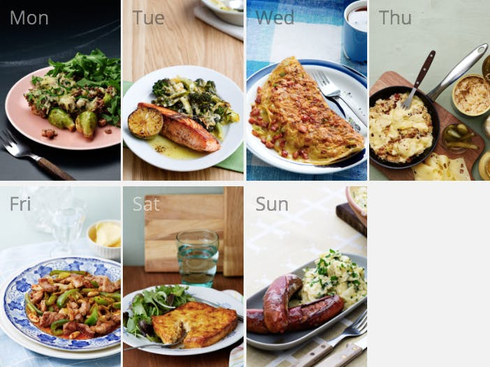 New keto meal plan - on a budget