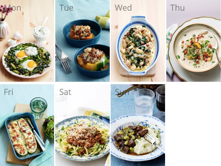 New low-carb meal plan - on a budget