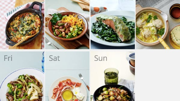 New keto meal plan - meals in 30 minutes or less