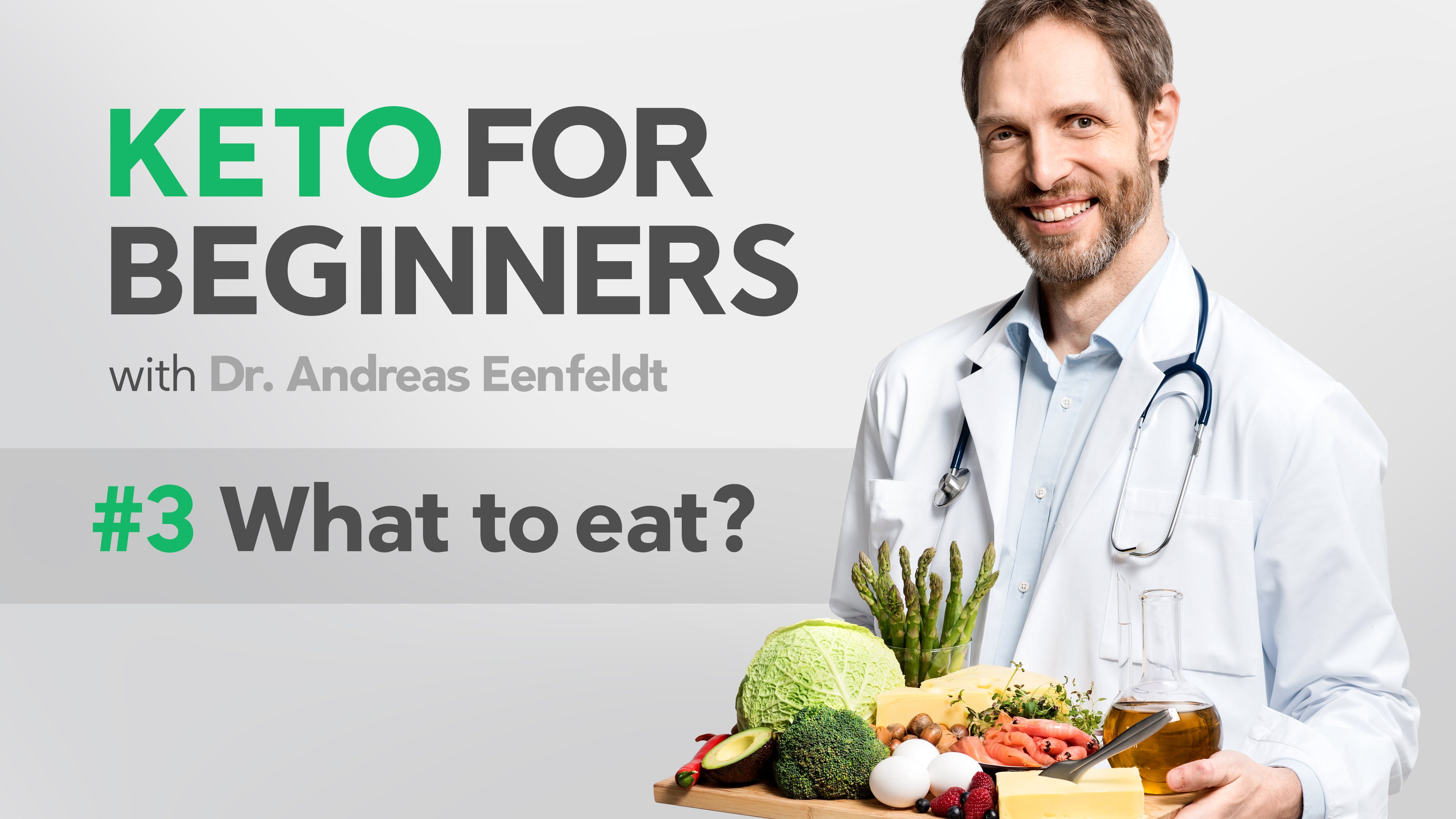 What to eat on a keto diet? New episode of the keto course