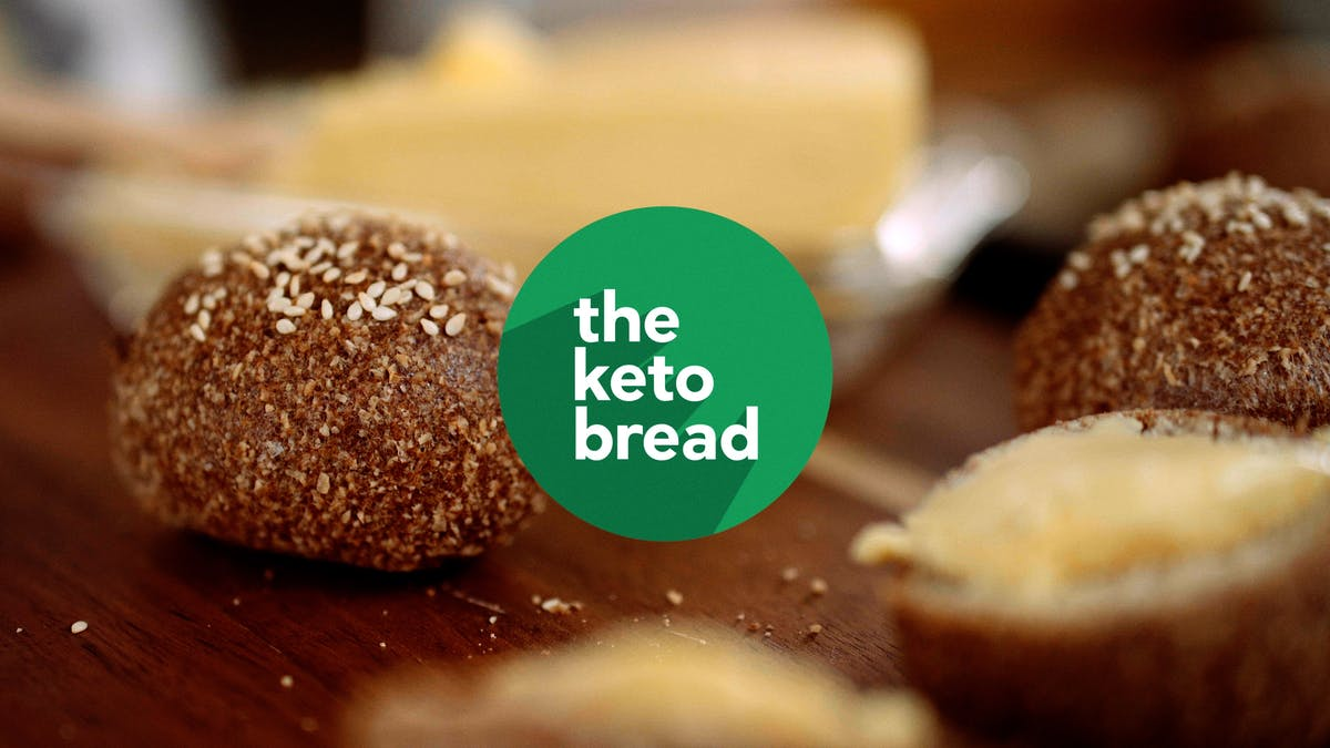 Our #2 most popular video of 2018: How to make the perfect keto bread