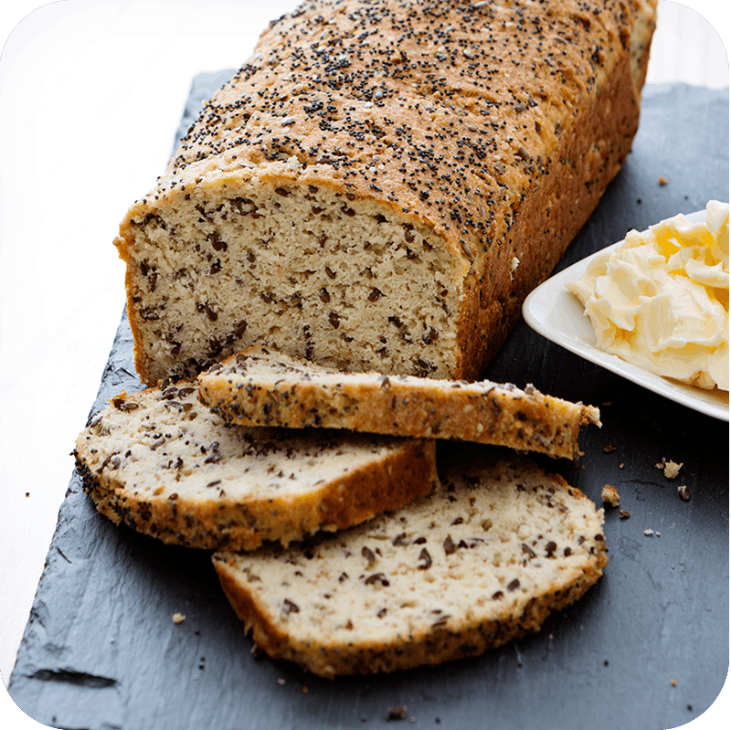 Low-carb bread