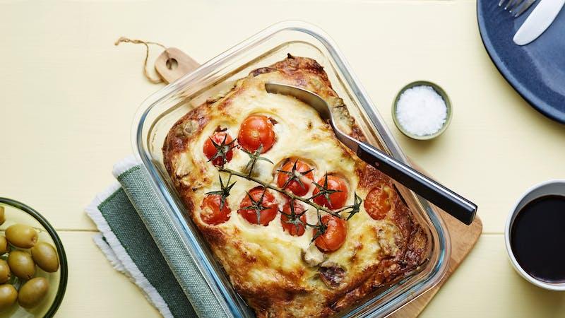 Vegetarian Keto Breakfast Casserole - The Best Meal Prep