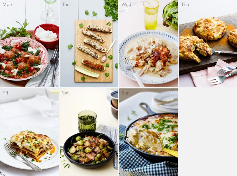 New keto meal plan - family favorites