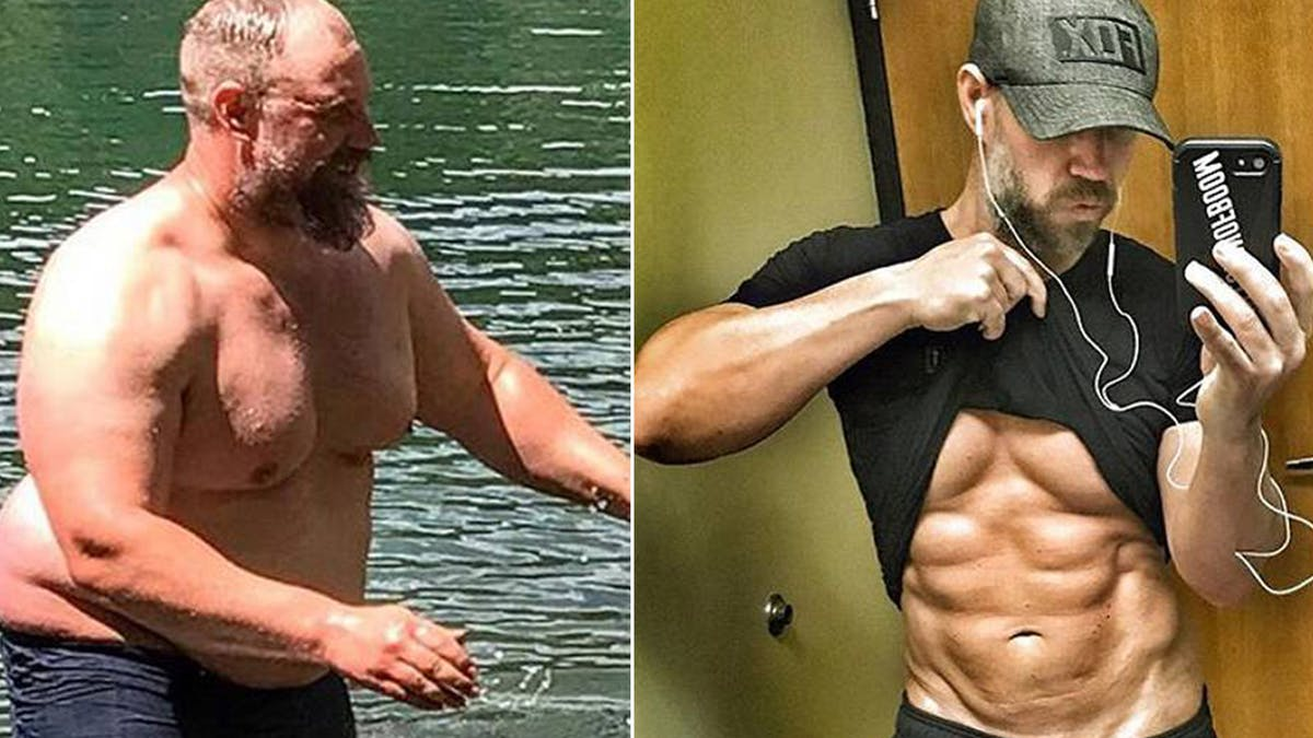 Losing almost 100 pounds and gaining 6-pack abs on a keto diet