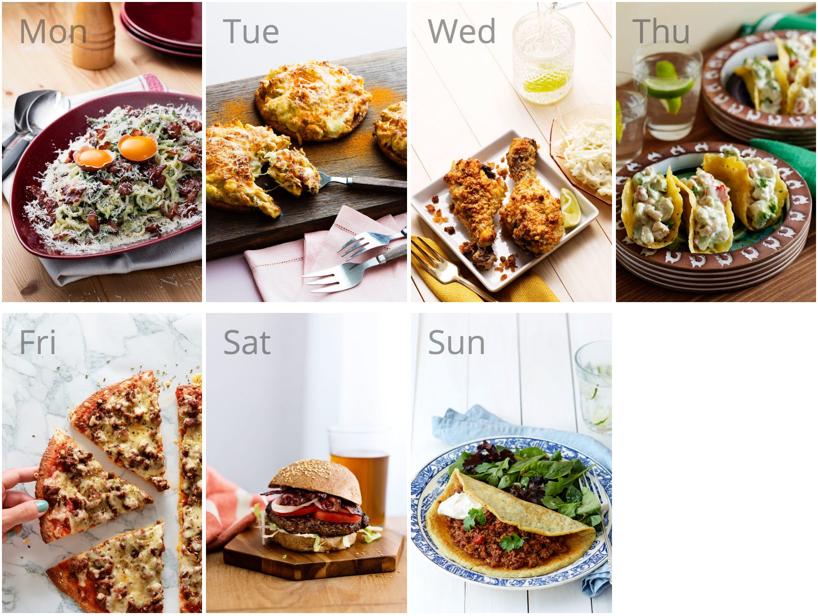 #1 meal plan: keto fast food favorites