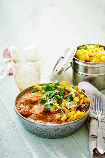 Low-carb Indian butter chicken<br />(Dinner)