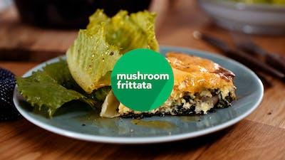 Mushroom frittata