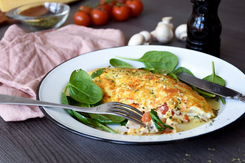 Jill's Cheese Crusted Omelet – A Keto Breakfast Favorite