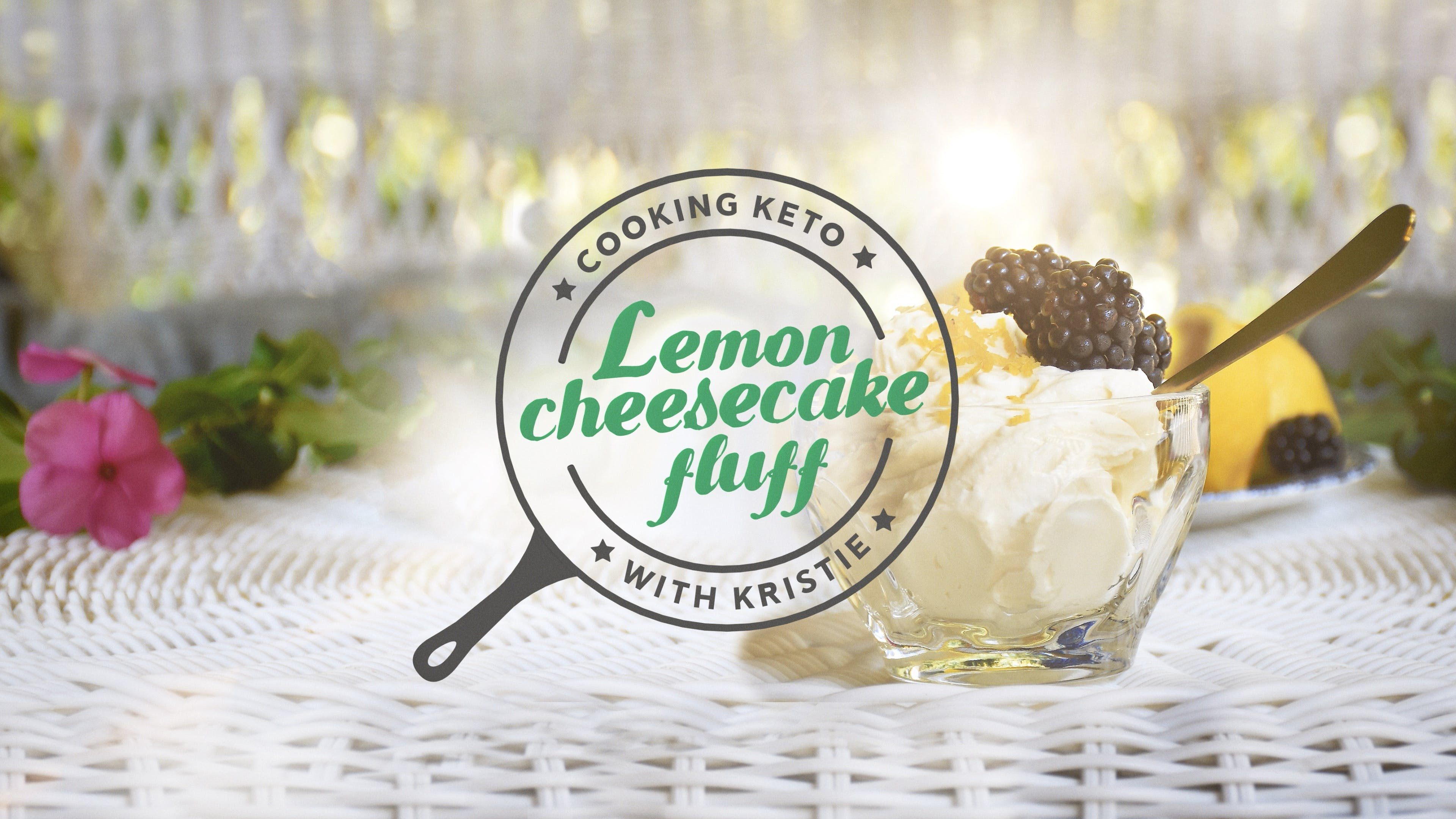 Lemon cheesecake fluff