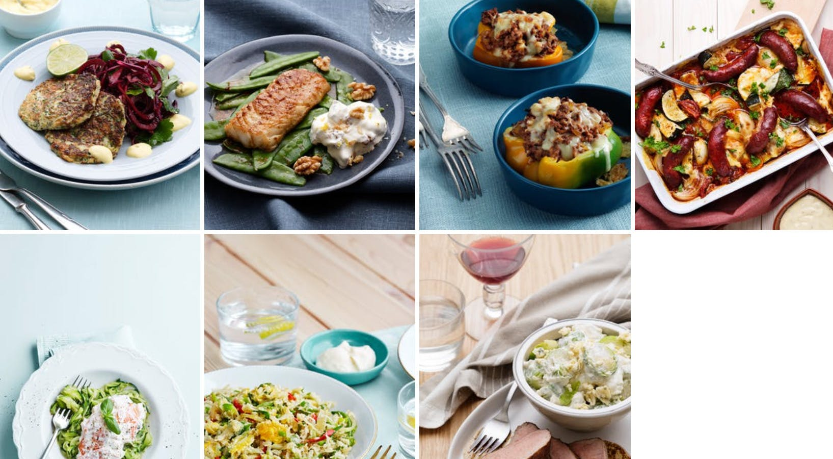 New low-carb meal plan - spring is in the air!