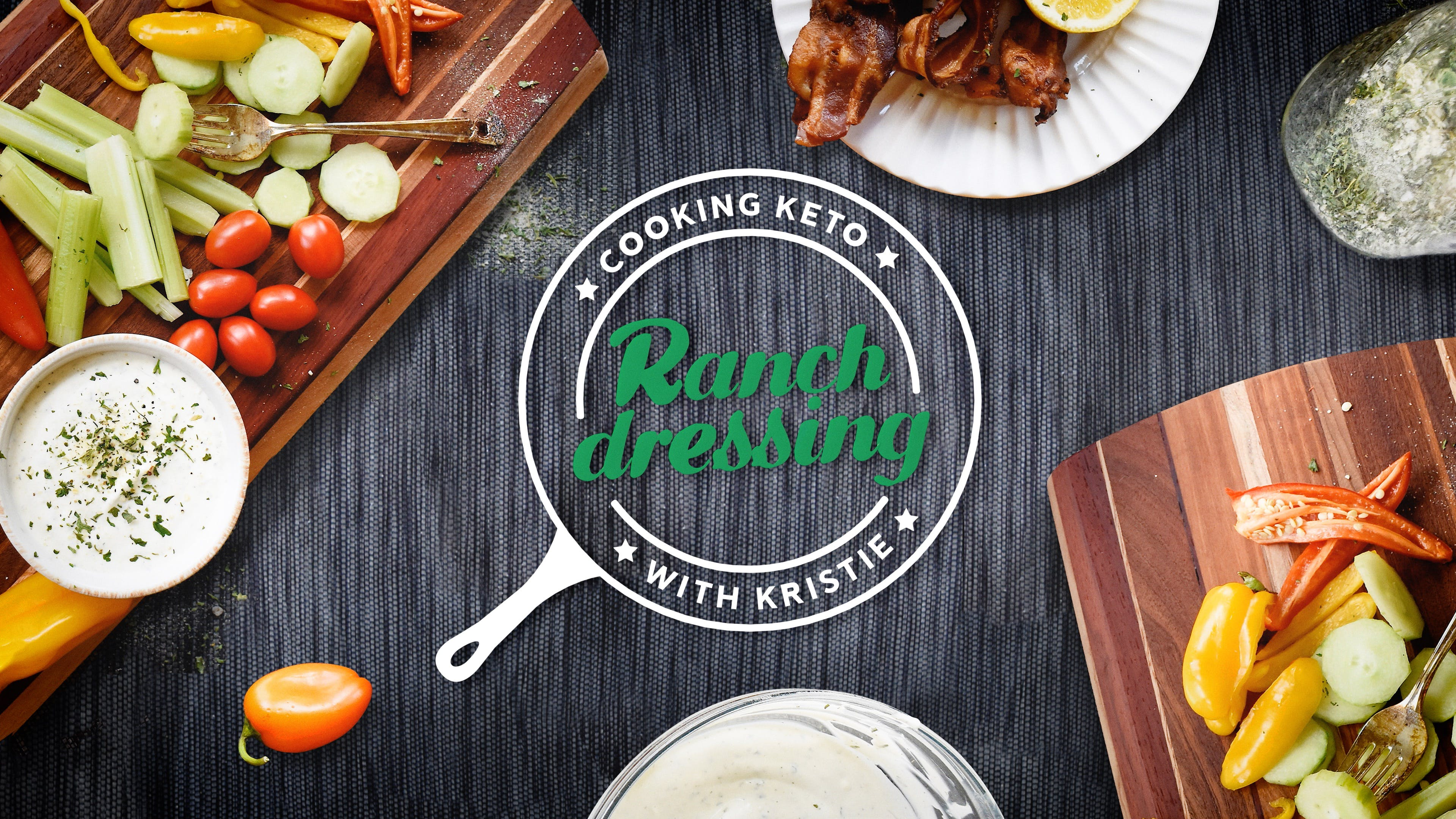Cooking Ranch dressing with Kristie