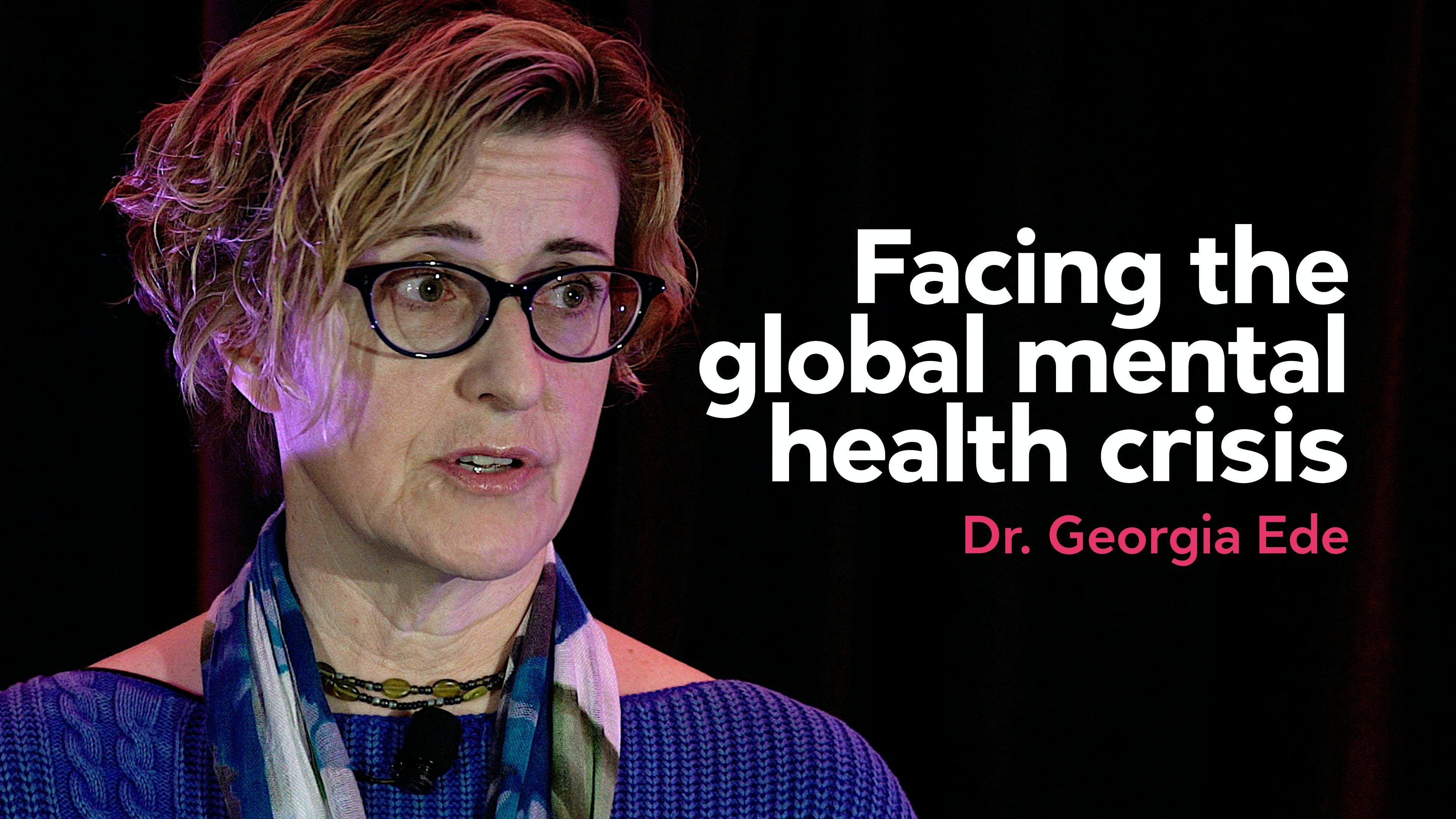 Facing the global mental health crisis
