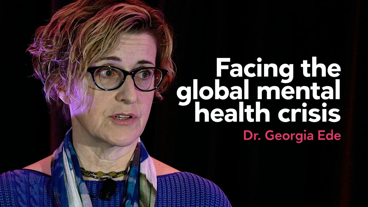 Facing the global mental health crisis