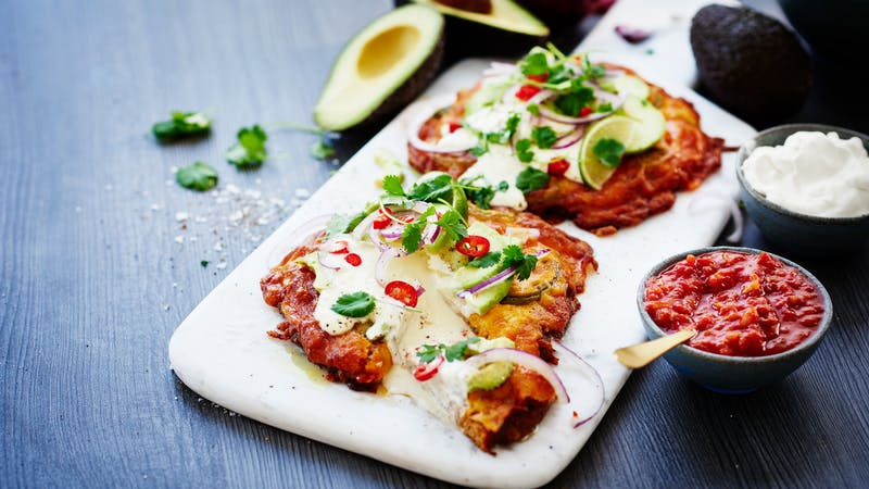 Taco Meatza - Taco-Flavored Low-Carb Pizza