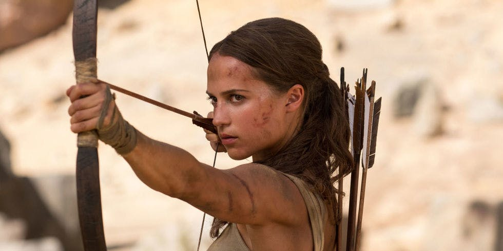 Alicia Vikander used a keto diet to help her get in shape for 'Tomb Raider'