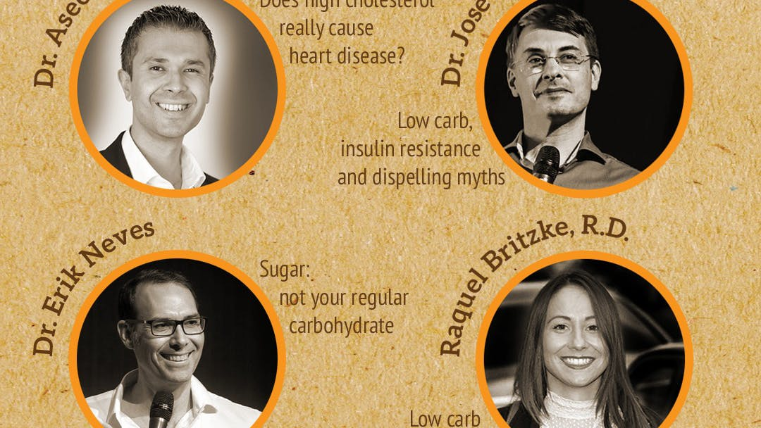 """Listen up, Londoners! """"Change your life with low carb"""""""