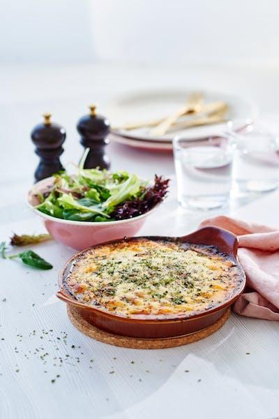 Low-carb moussaka<br />(Dinner)